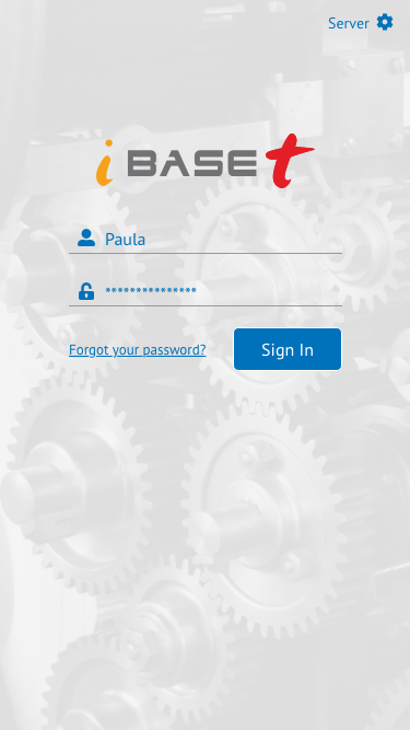 Unit Info App - Login